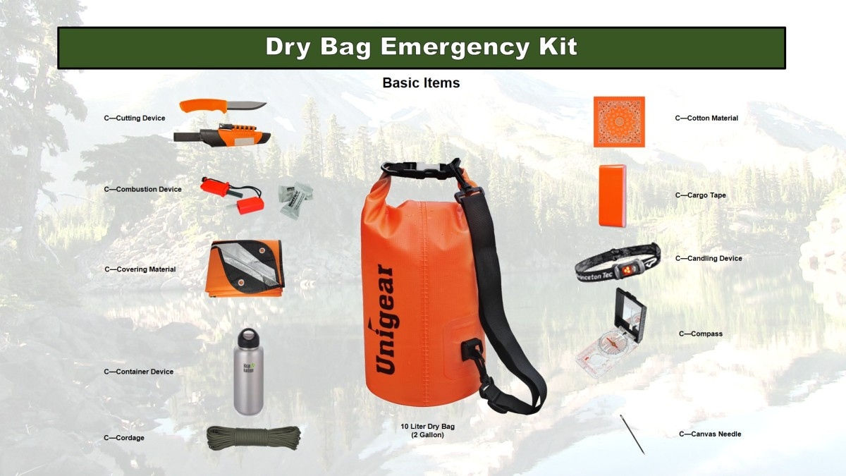 An Outstanding Dry Bag Emergency Kit