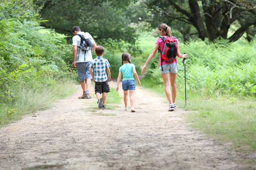 Hiking With Your Family